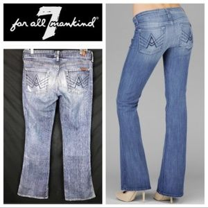 "7 For All Mankind ""A"" Pocket Flare Fit Jeans"
